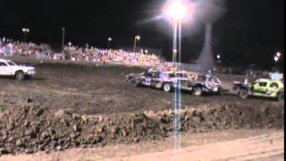 Oakley (KS) United States  city images : Oakley Kansas Demolition Derby 7-17-15 Main Event