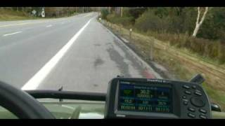 3. john Deere Gator XUV Haulin Arsse On Interstate Highway!