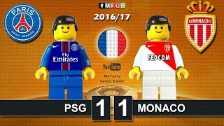 Video Paris Saint-Germain PSG vs Monaco 1-1 • Ligue1 2017 (29/01/2017) goal highlights Lego Football MP3, 3GP, MP4, WEBM, AVI, FLV Juni 2017
