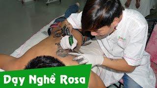 Dạy nghề Xăm hình nghệ thuật - Tattoo cho người hưởng Bảo hiểm thất nghiệp