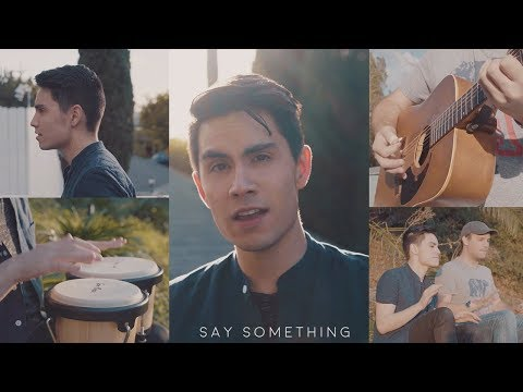 Video Say Something - Justin Timberlake ft. Chris Stapleton - Sam Tsui Cover | Sam Tsui download in MP3, 3GP, MP4, WEBM, AVI, FLV January 2017