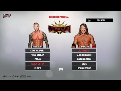 WWE 2K20 FULL ROSTER - 200+ Superstars - RAW, SDLive, NXT, Women,Legend | Concept/Notion | PS4/XB1