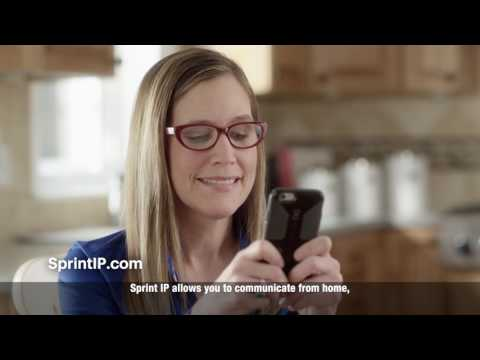 Sprint IP Relay Mobile App - 30-sec video