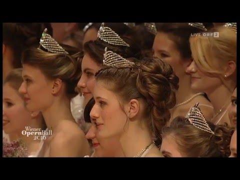 Wiener Opernball 2016 - 60. Wiener Opernball - Die Eröf ...