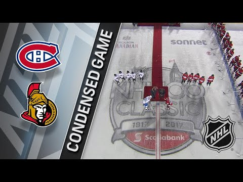 12/16/17 Condensed Game: Canadiens @ Senators