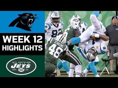 Video: Panthers vs. Jets | NFL Week 12 Game Highlights