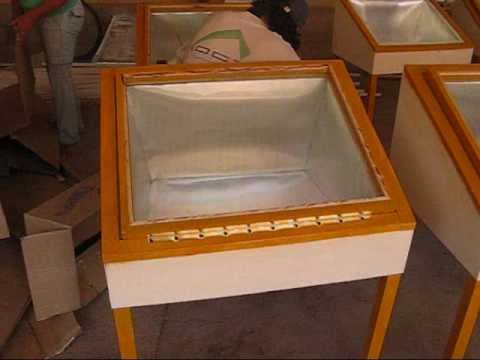 vid o construire son four solaire le vert solidaire. Black Bedroom Furniture Sets. Home Design Ideas