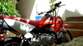 7. 2009 Honda CRF50 idle problems