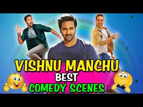 Vishnu Manchu Best Comedy Scenes | South Indian Hindi Dubbed Best Comedy Scenes