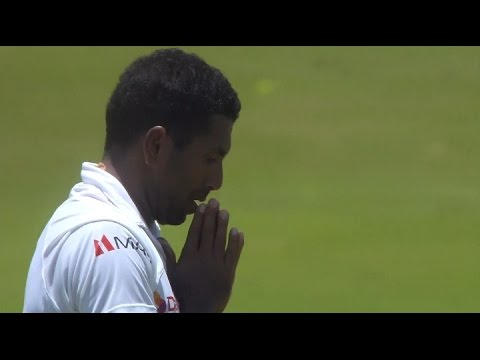 Day 3, 2nd Test, India in Sri Lanka, 2015 - Highlights