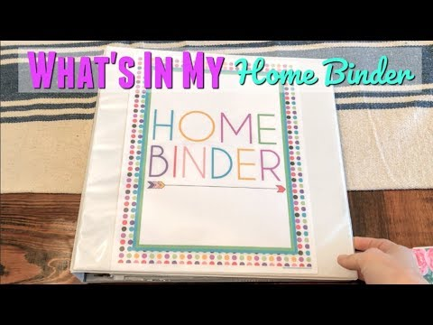 DIY HOME BINDER // HOW TO ORGANIZE YOUR LIFE // DIY PLANNER - Thời lượng: 9:00.
