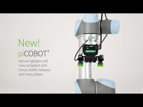 piCOBOT® – Now configurable for any cobot and smaller industrial robots