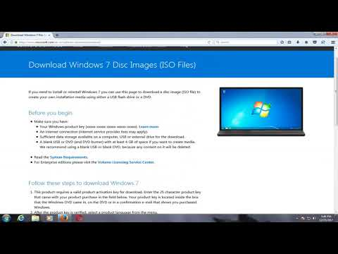 How To Download Windows 7 ISO For Free From Microsoft [Tutorial]