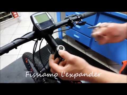Tappo serie sterzo - montaggio expander LIDI 2016