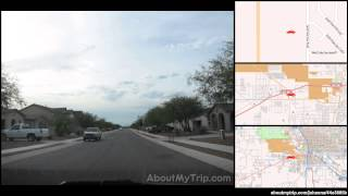 West Ajo Highway (AZ, Arizona) to West Placita Don Felix (South Tucson, AZ)