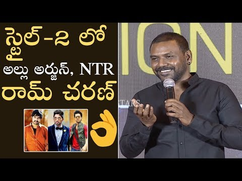 Raghava Lawrence About Style Movie Part 2 With Allu Arjun and Ram Charan
