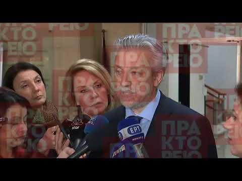 Συνάντηση του  Σταύρο Κοντονή με τον Τούρκο  υφυπουργού Δικαιοσύνη Μπιλάλ Ουτσάρ