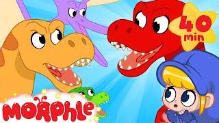 Video Morphle the dinosaur goes back in time! MP3, 3GP, MP4, WEBM, AVI, FLV Maret 2019