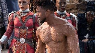 Video How Michael B. Jordan Got Ripped For Black Panther MP3, 3GP, MP4, WEBM, AVI, FLV April 2018