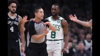 Celtics Fan Throws Beer Onto Court After Kemba Walker Gets Ejected