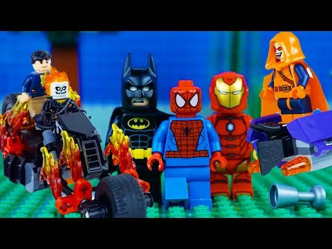 LEGO Super Heroes STOP MOTION LEGO Marvel vs DC COMPILATION | LEGO Superhereos | By Billy Bricks