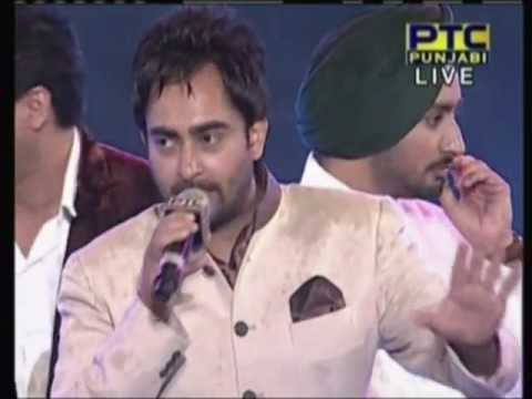 2013 PTC Music Awards - Famous Punjabi Singers on stage live singing