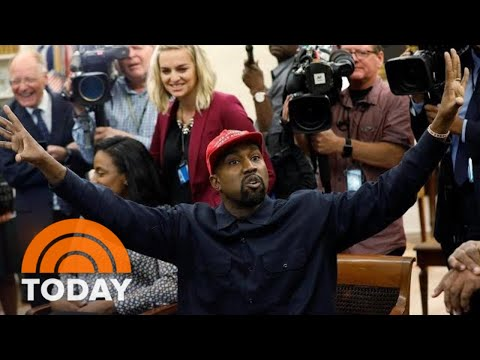 Kanye West Delivers Freewheeling Rant At The White House | TODAY