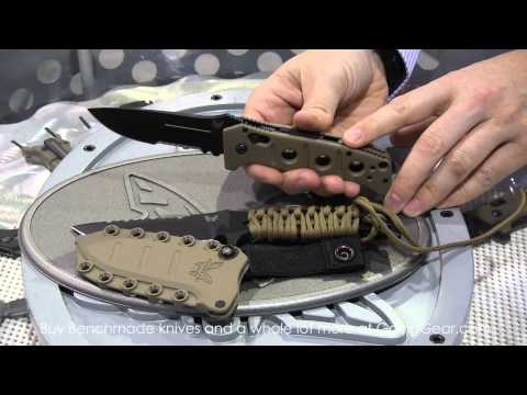 benchmade - Our first visit of the 2012 SHOT Show was to Benchmade, one of our favorite knife manufacturers. They were nice enough to show us all of their new products f...