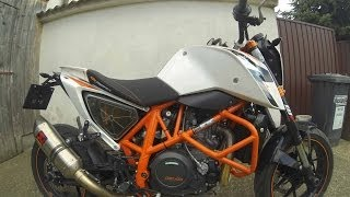 2. KTM 690 Duke R 2013 near top speed