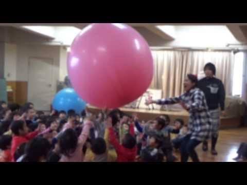 みかづき保育園の始業式に出演させて頂きました。 〜 愛知県名古屋市 〜