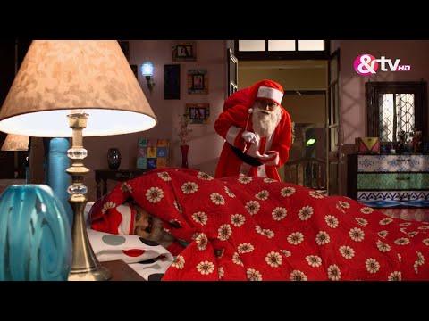 Bhabi Ji Ghar Par Hai - Kiss of love for Santa - D