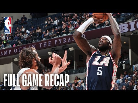 Video: CLIPPERS vs GRIZZLIES | Montrezl Harrell Drops 30 (11-14 FG) For LAC | February 22, 2019