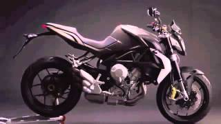 5. 2012-2013 MV Agusta Brutale 675 red photo compilation