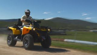 7. Can Am 650 XT Review