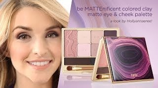 be MATTEnificent colored clay matte eye & cheek palette