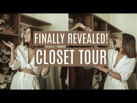 FINALLY REVEALED: MY NEW CLOSET TOUR!   Komal Pandey