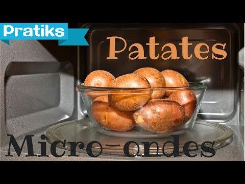 Comment faire cuire ses patates au micro-ondes