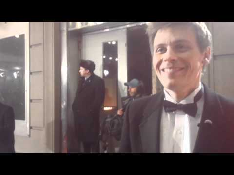 Christian Finnegan: Official Comedy Awards red carpet interviewer