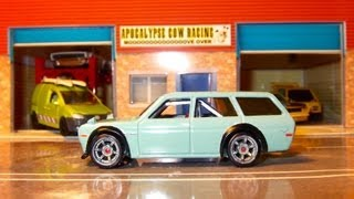 Hot Wheels Boulevard Datsun 510 Wagon Drift Conversion