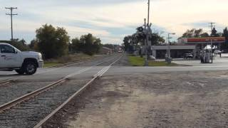 Kalkaska (MI) United States  city images : GLC Railroad Fall color train Northbound thru Kalkaska MI on 10-10-2015