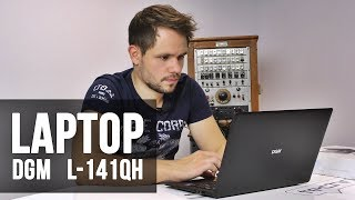 Laptop DGM L141QH - test