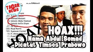 Video Dicatut Namanya Jadi Timses Prabowo, Abdul Somad Sebut itu HOAX!11 MP3, 3GP, MP4, WEBM, AVI, FLV Agustus 2018