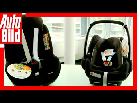 Tutorial/Ratgeber/ Review/ Test Kindersitze Maxi Cosi