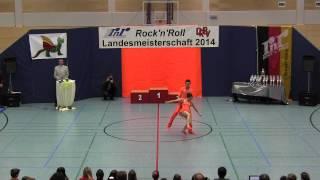 Amila Okanovic & Tim Huber - Landesmeisterschaft Rheinland- Pfalz 2014
