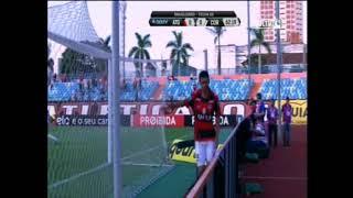 Vitória do Dragão sobre o coxa no estádio Olímpico de Goiânia 12/08/17.