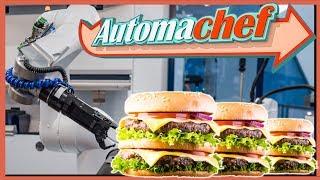 AUTOMACHEF Gameplay • Küchen Automatisierung Simulator mit Roboter