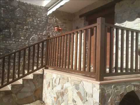 Barandillas de exterior videos videos relacionados con for Barandilla madera exterior