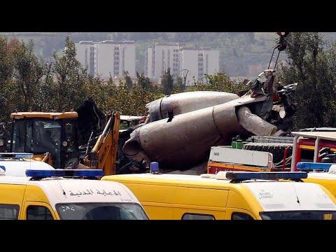 257 Tote bei Absturz einer Militärmaschine in Algerien