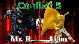 One of my favorite sets: Mr. R vs Leon – Conflict 5 GFs Set 2