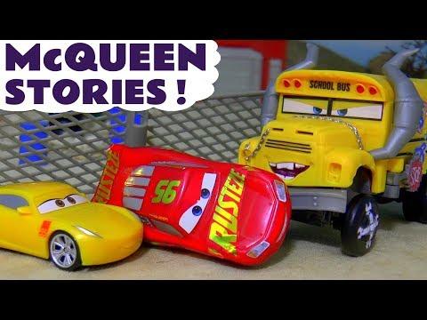 Disney Cars 3 Toys Lightning McQueen and Cruz Ramirez Stories